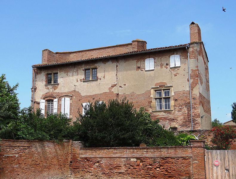 Photo du Monument Historique Ancien château situé à Montgeard