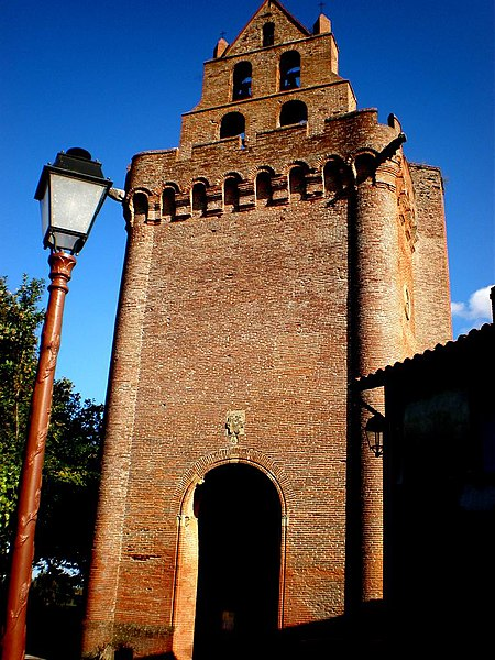 Photo du Monument Historique Eglise Notre-Dame de l'Assomption situé à Montgeard