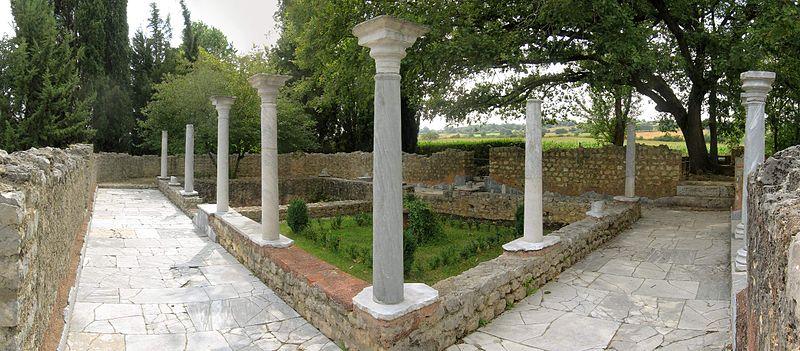 Photo du Monument Historique Ruines de la villa gallo-romaine situé à Montmaurin