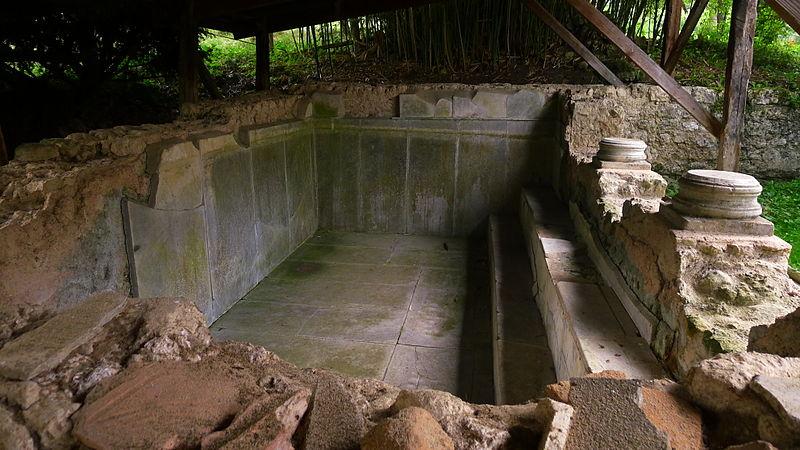 Photo du Monument Historique Thermes gallo-romains situé à Montoulieu-Saint-Bernard