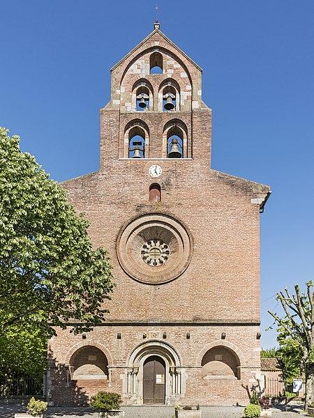 Photo du Monument Historique Eglise Saint-Christophe des Templiers situé à Montsaunès