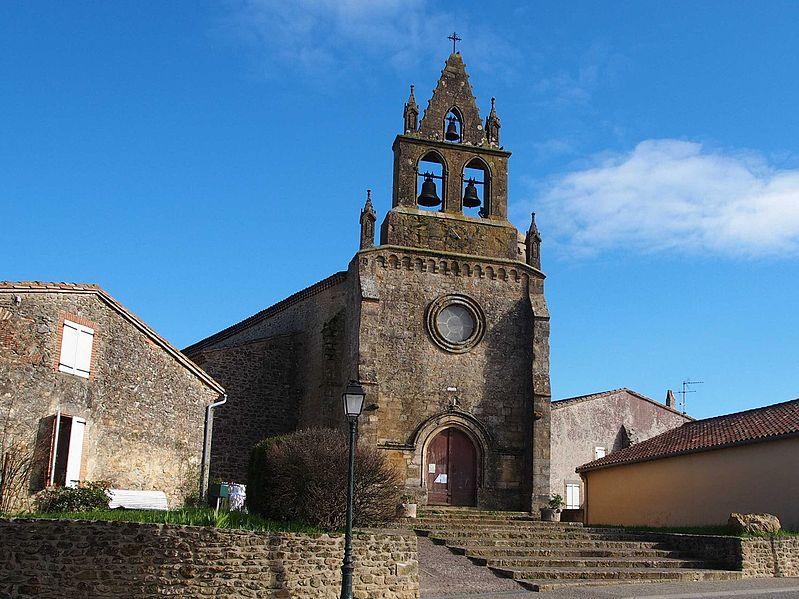 Photo du Monument Historique Eglise situé à Mourvilles-Hautes