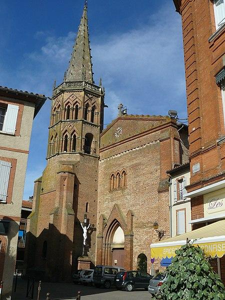 Photo du Monument Historique Eglise Saint-Jacques situé à Muret