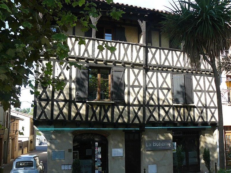Photo du Monument Historique Maison situé à Muret