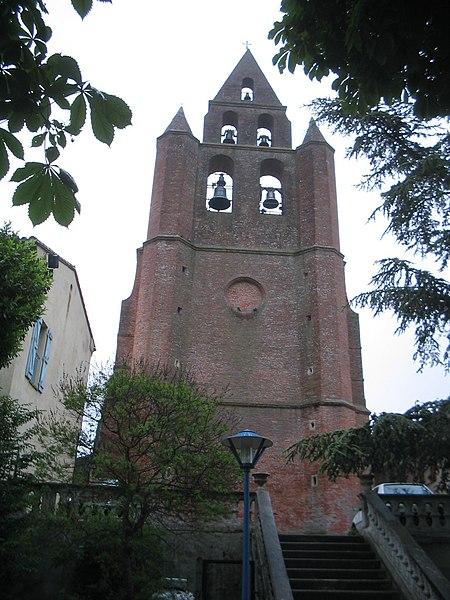 Photo du Monument Historique Eglise Saint-Martin situé à Nailloux