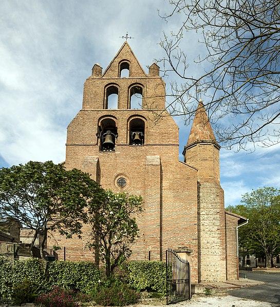 Photo du Monument Historique Eglise situé à Pechbonnieu