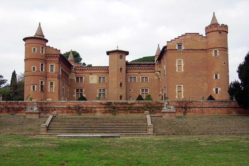 Photo du Monument Historique Château situé à Pibrac