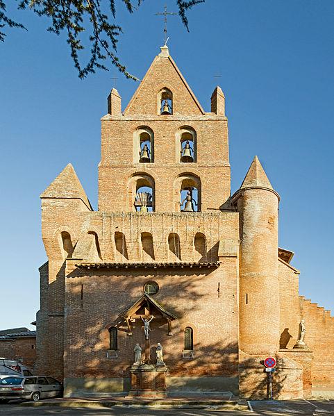 Photo du Monument Historique Eglise situé à Pibrac