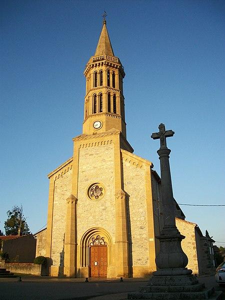 Photo du Monument Historique Eglise Saint-Sernin situé à Pointis-Inard