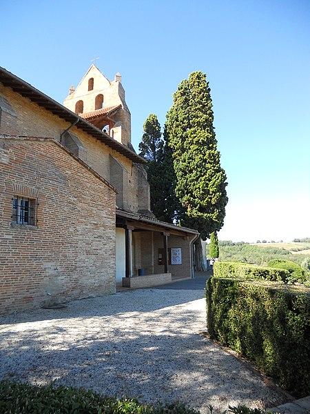 Photo du Monument Historique Eglise Saint-André situé à Pompertuzat