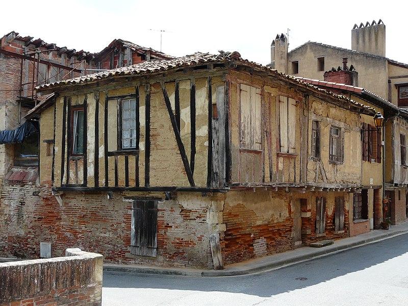 Photo du Monument Historique Maison situé à Rieux-Volvestre
