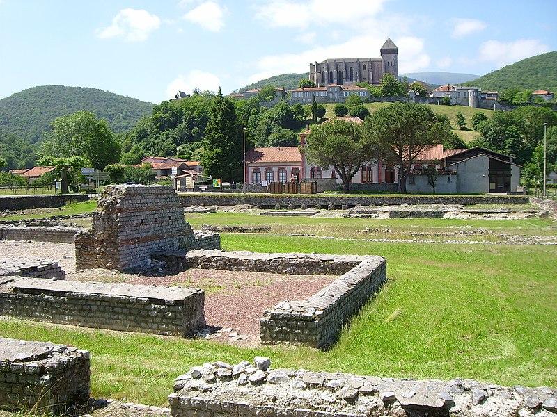 Photo du Monument Historique Ruines antiques situé à Saint-Bertrand-de-Comminges