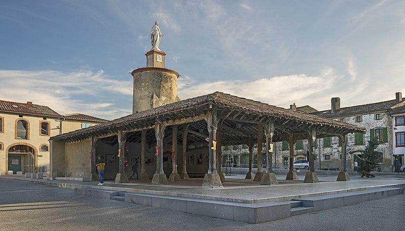 Photo du Monument Historique Halle situé à Saint-Félix-Lauragais