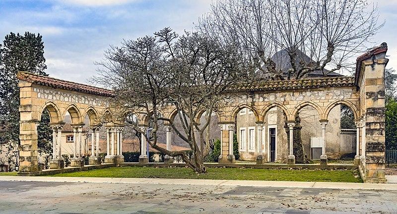 Photo du Monument Historique Ancienne abbaye de Bonnefont situé à Saint-Gaudens