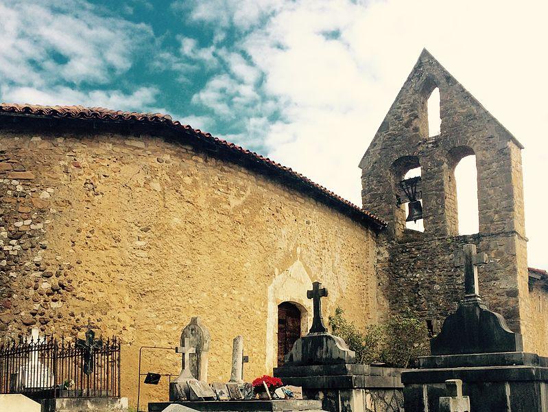 Photo du Monument Historique Chapelle Saint-Jean et cimetière situé à Saint-Plancard