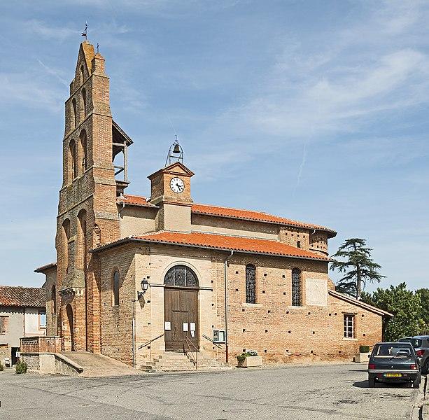 Photo du Monument Historique Eglise situé à Saint-Sauveur