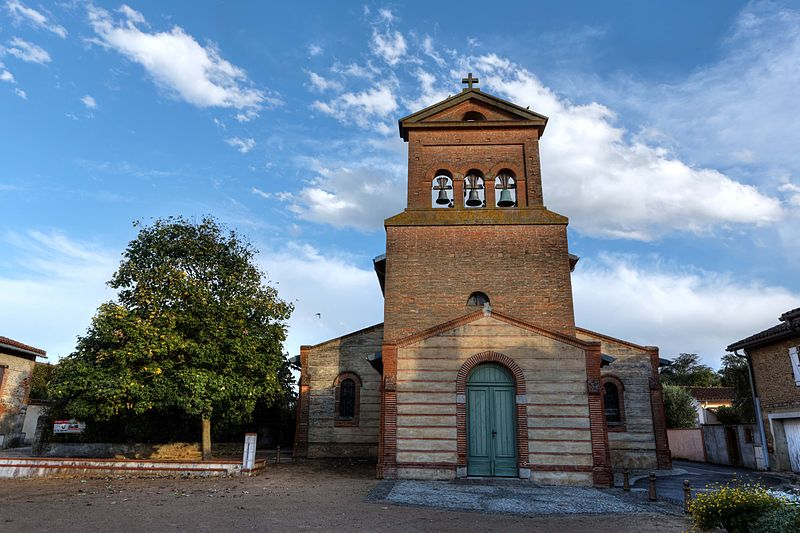 Photo du Monument Historique Eglise Notre-Dame situé à Saubens
