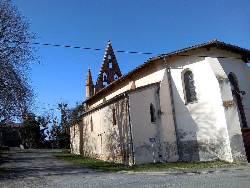 Photo du Monument Historique Eglise situé à Savères