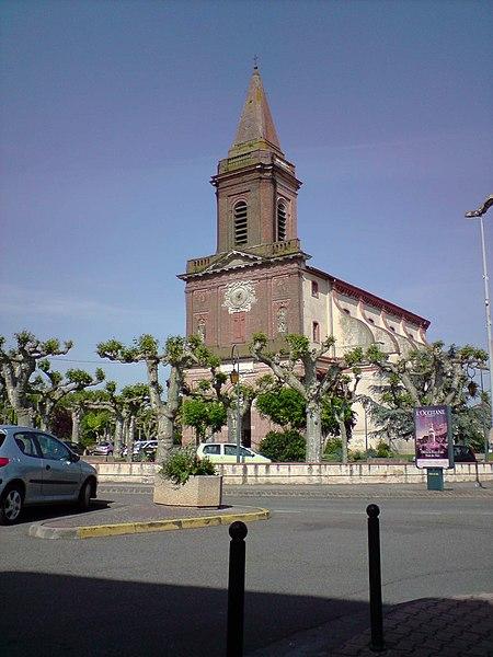 Photo du Monument Historique Eglise situé à Seysses