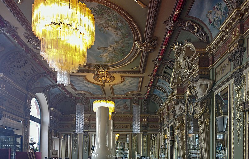 Photo du Monument Historique Café Bibent situé à Toulouse