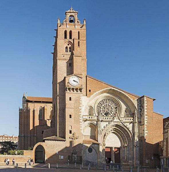 Photo du Monument Historique Cathédrale Saint-Etienne situé à Toulouse