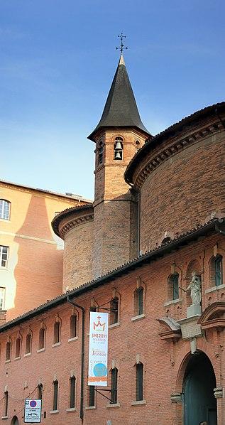 Photo du Monument Historique Ancienne chapelle des Pénitents Bleus, actuellement église Saint-Jérôme situé à Toulouse