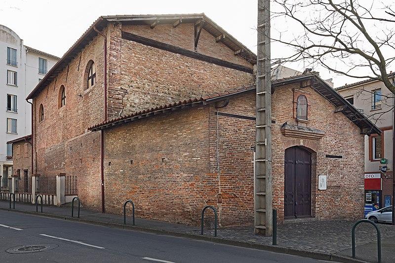 Photo du Monument Historique Ancienne chapelle Saint-Roch-du-Férétra situé à Toulouse