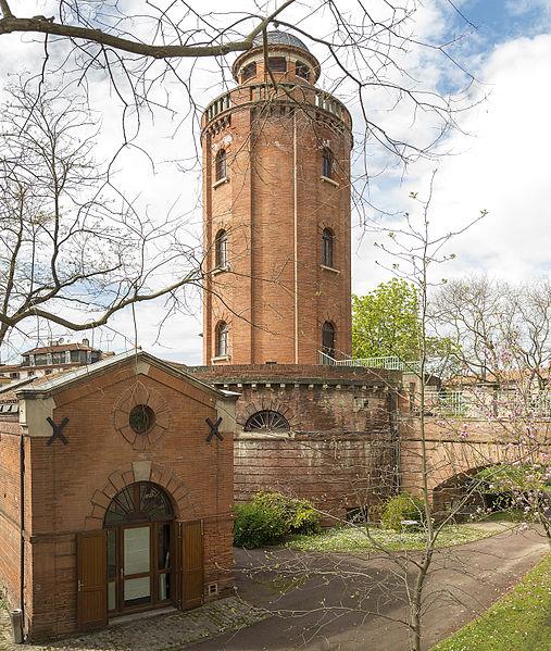 Photo du Monument Historique Château d'eau et station de pompage situé à Toulouse