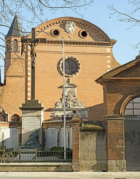 Photo du Monument Historique Couvent des Carmes Déchaussées situé à Toulouse