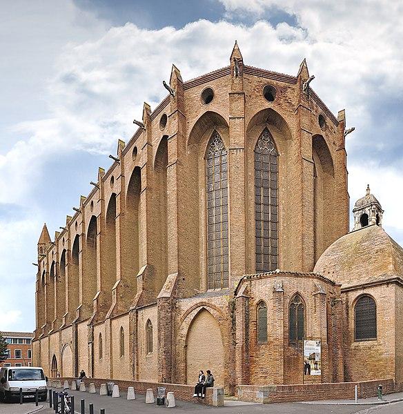 Photo du Monument Historique Ancien couvent des Jacobins situé à Toulouse