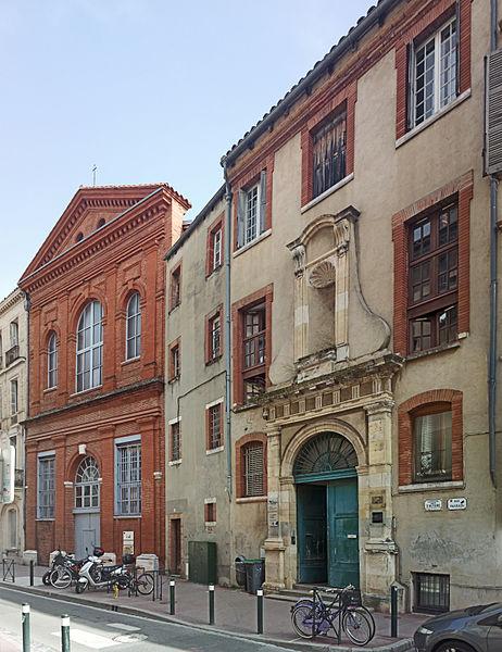 Photo du Monument Historique Ancien couvent des religieux de Saint-Antoine-du-Salin situé à Toulouse