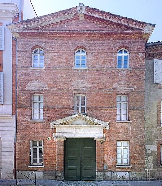 Photo du Monument Historique Couvent de la Visitation comportant les anciens hôtels Le Mazuyer et de Béarn situé à Toulouse