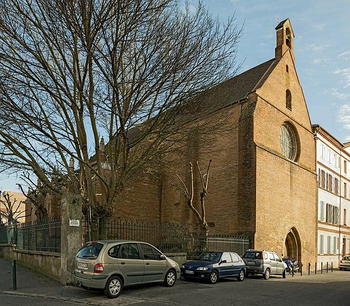 Photo du Monument Historique Eglise du Calvaire, ancienne chapelle des Récollets situé à Toulouse
