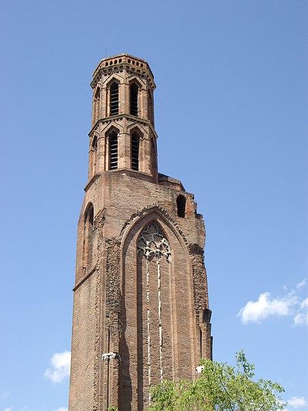 Photo du Monument Historique Ruines de l'église des Cordeliers situé à Toulouse
