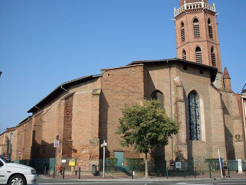 Photo du Monument Historique Eglise et ancien couvent des Minimes situé à Toulouse