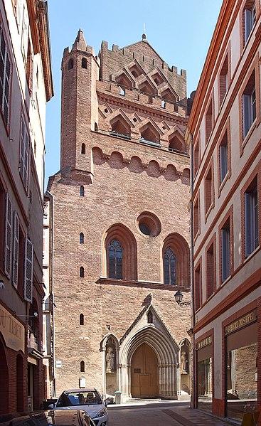 Photo du Monument Historique Eglise Notre-Dame-du-Taur situé à Toulouse
