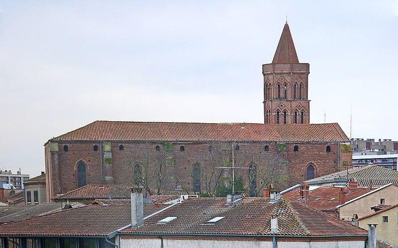 Photo du Monument Historique Eglise Saint-Nicolas situé à Toulouse