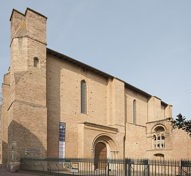 Photo du Monument Historique Ancienne église Saint-Pierre-des-Cuisines situé à Toulouse