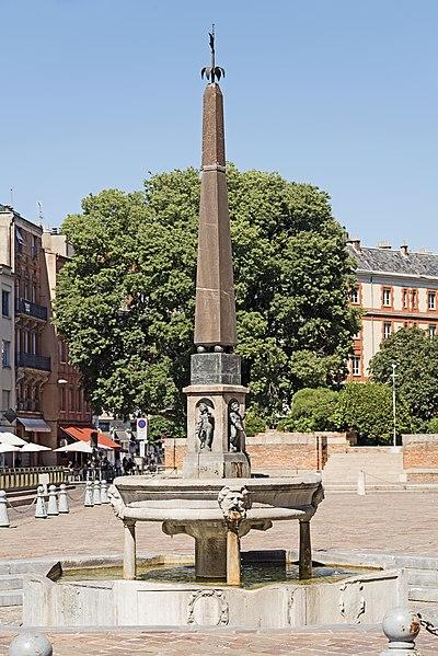 Photo du Monument Historique Fontaine situé à Toulouse