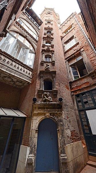 Photo du Monument Historique Hôtel d'Arnaud de Brucelles situé à Toulouse