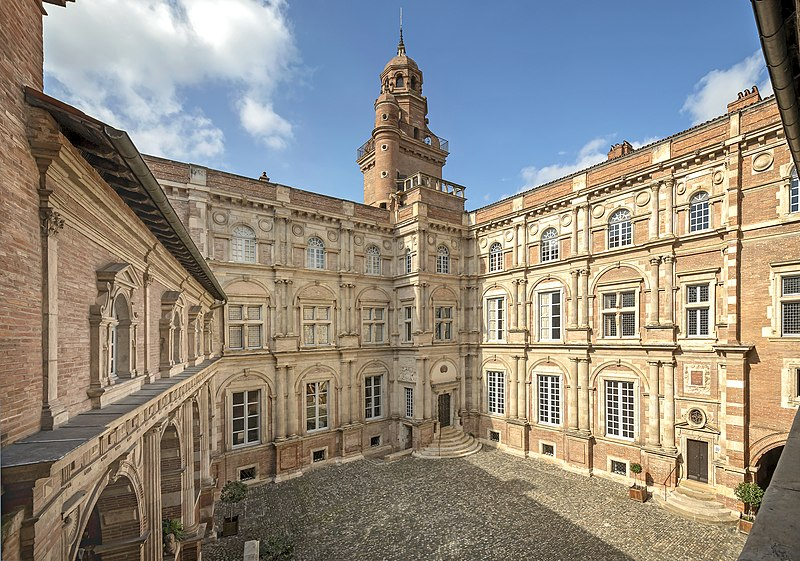 Photo du Monument Historique Hôtel d'Assézat et de Clémence Isaure situé à Toulouse