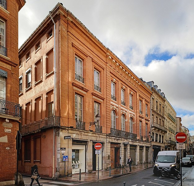 Photo du Monument Historique Ancien hôtel de Bonfontan situé à Toulouse