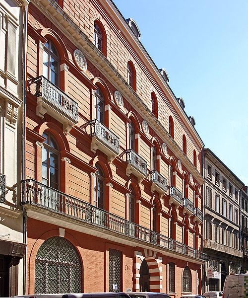 Photo du Monument Historique Hôtel Dassier situé à Toulouse