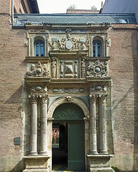 Photo du Monument Historique Hôtel Felzins situé à Toulouse