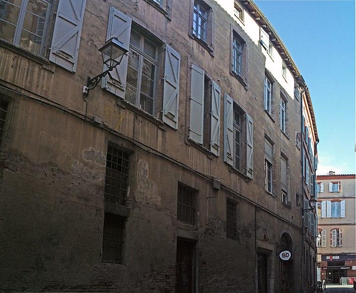 Photo du Monument Historique Ancien hôtel de Gayssion situé à Toulouse