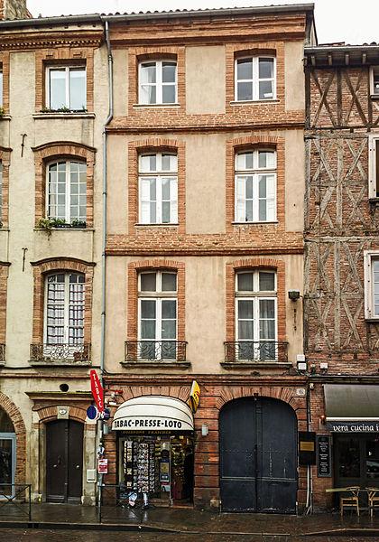 Photo du Monument Historique Hôtel Jean Catel situé à Toulouse