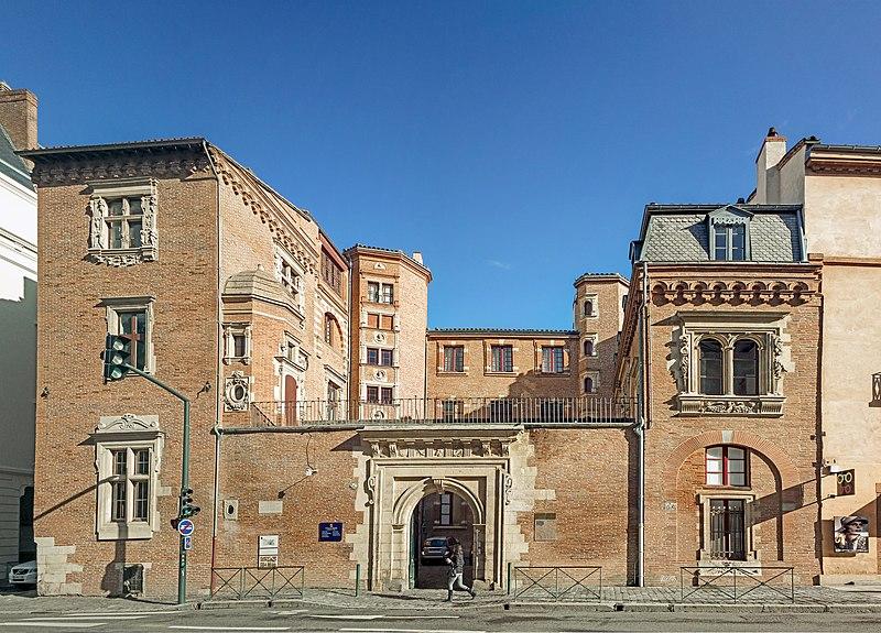 Photo du Monument Historique Hôtel de Lasbordes ou du Vieux-Raisin situé à Toulouse