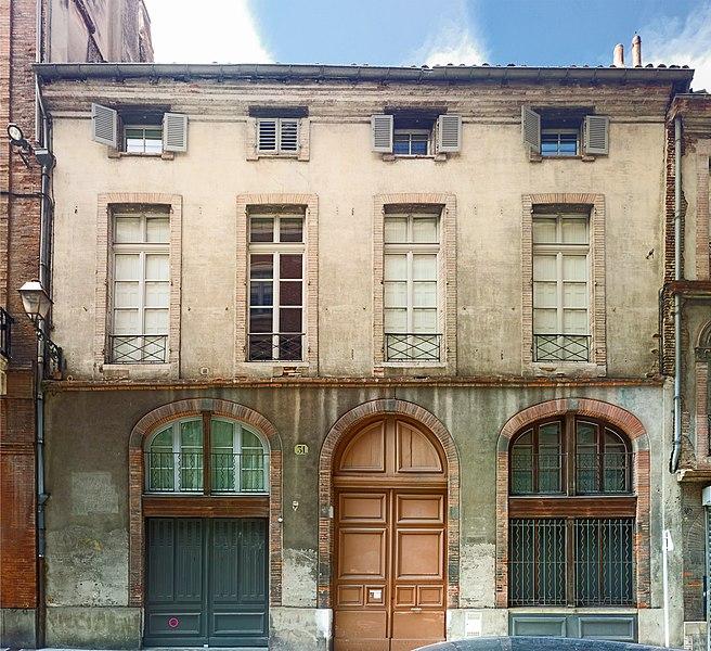 Photo du Monument Historique Hôtel dit de la Mammye situé à Toulouse