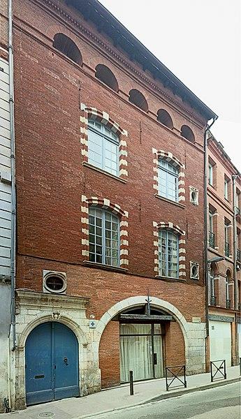 Photo du Monument Historique Hôtel Marvéjol situé à Toulouse