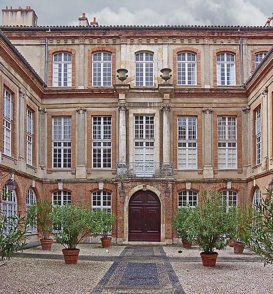 Photo du Monument Historique Hôtel de Nupces situé à Toulouse